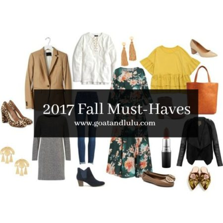 2017 Fall Must-Haves